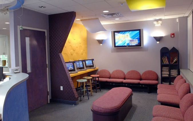 Woodbury Pediatric Dentistry Orthodontics Office Picture - Waiting Room
