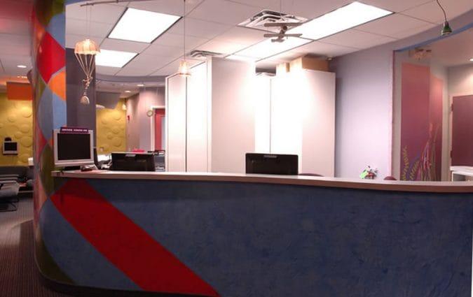 Woodbury Pediatric Dentistry Orthodontics Office Picture - Reception