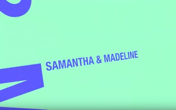 Video cover image - Samantha & Madeline story