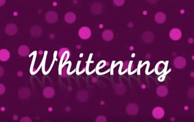 Video cover image - Teeth whitening treatment